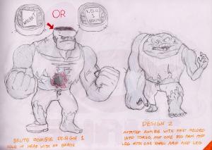 001_Brute_Zombie_Initial_Design