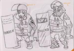 007_Riot_Cop_Zombie_Initial_Designs_B