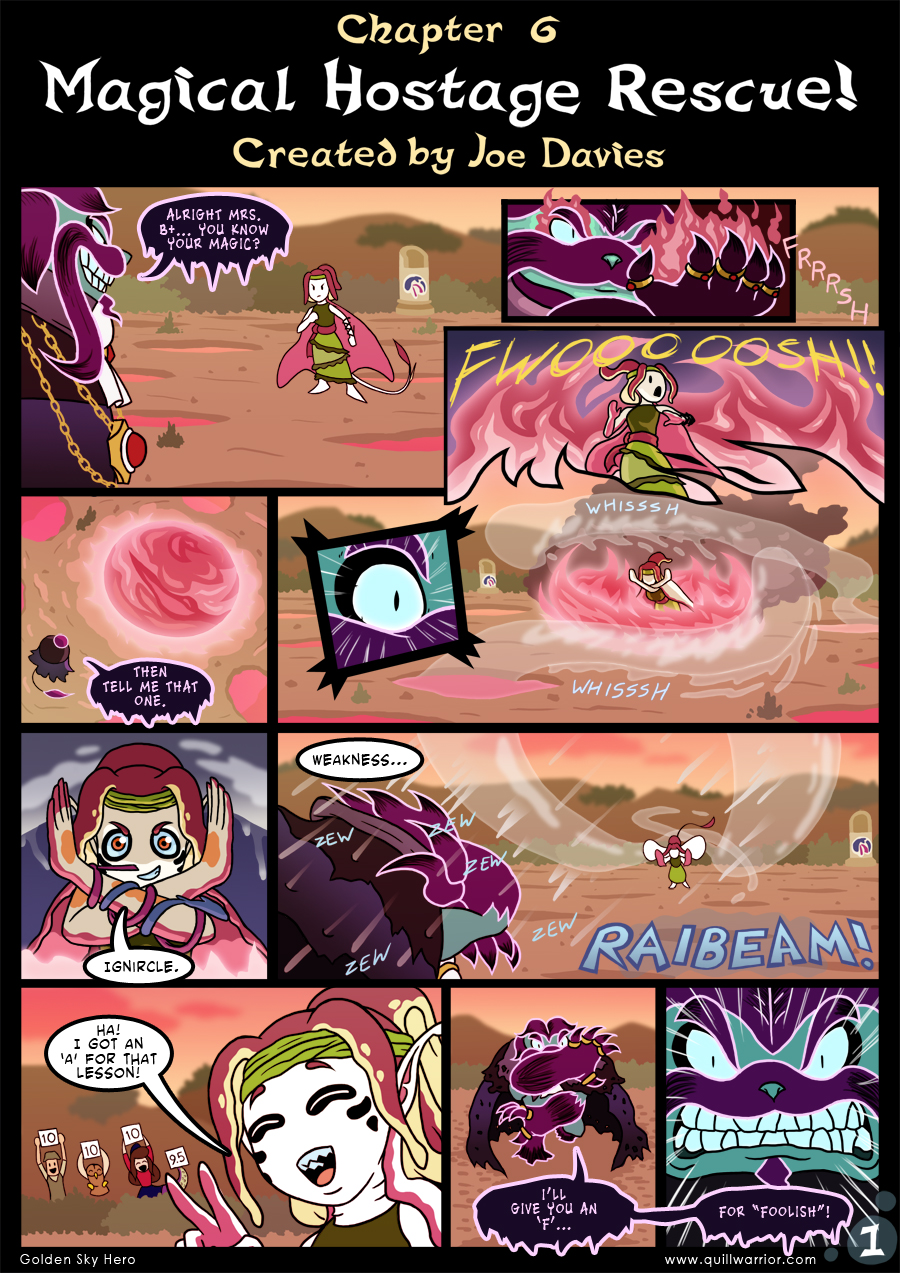 Golden Sky Hero – Chapter 6 ~ Page 1