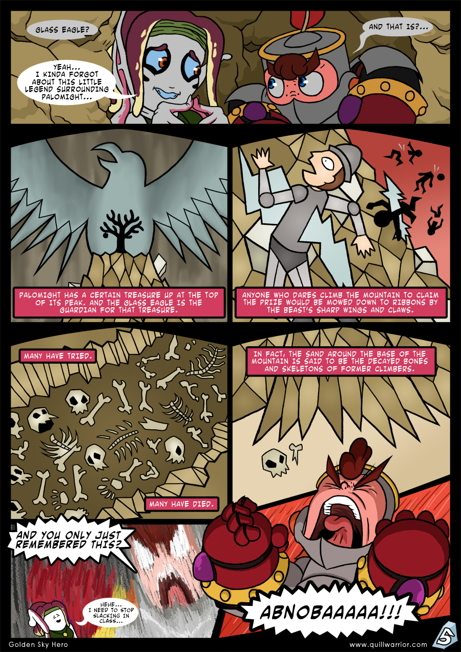 Golden Sky Hero – Chapter 7 – Page 5