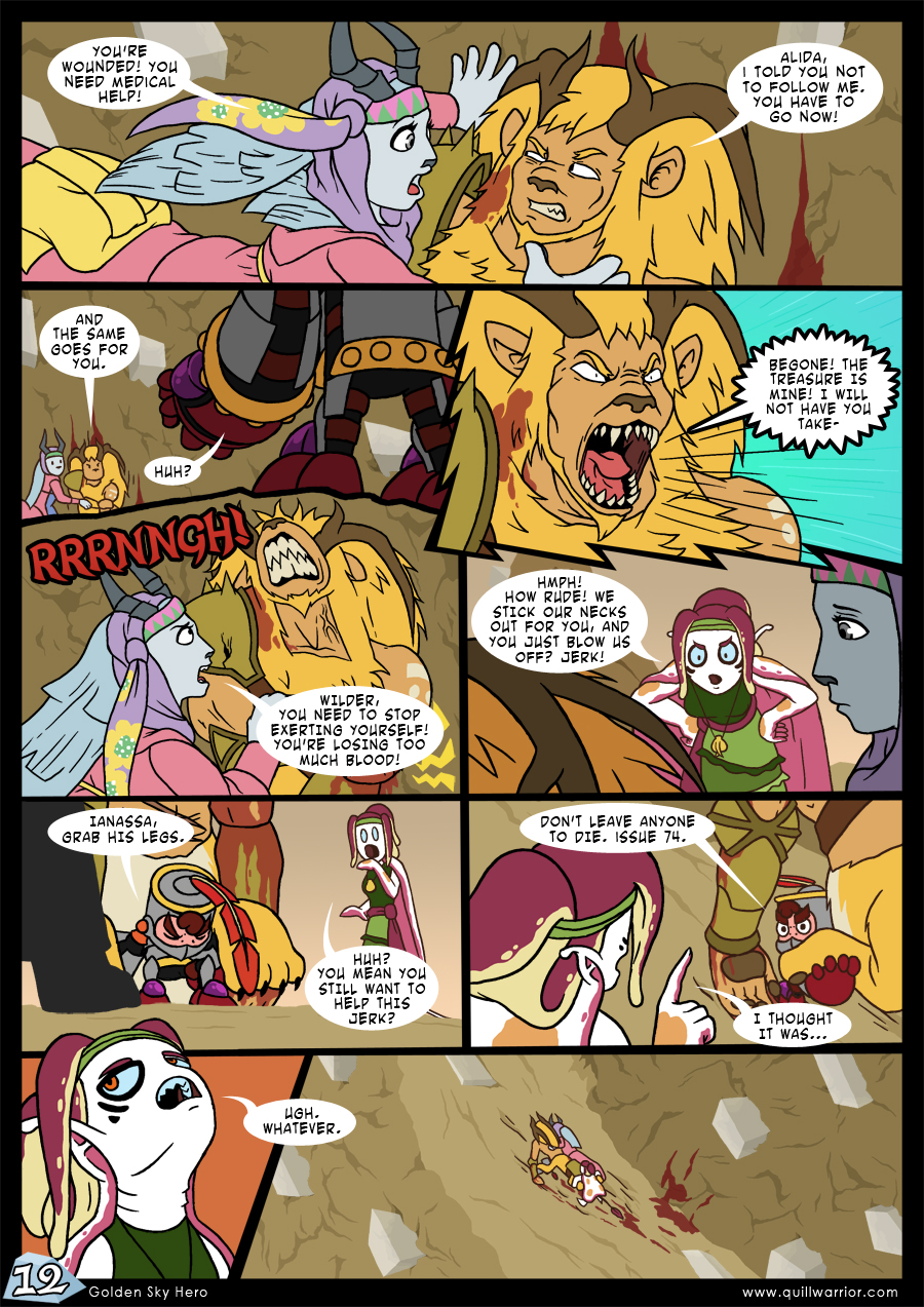 Golden Sky Hero – Chapter 7 – Page 12