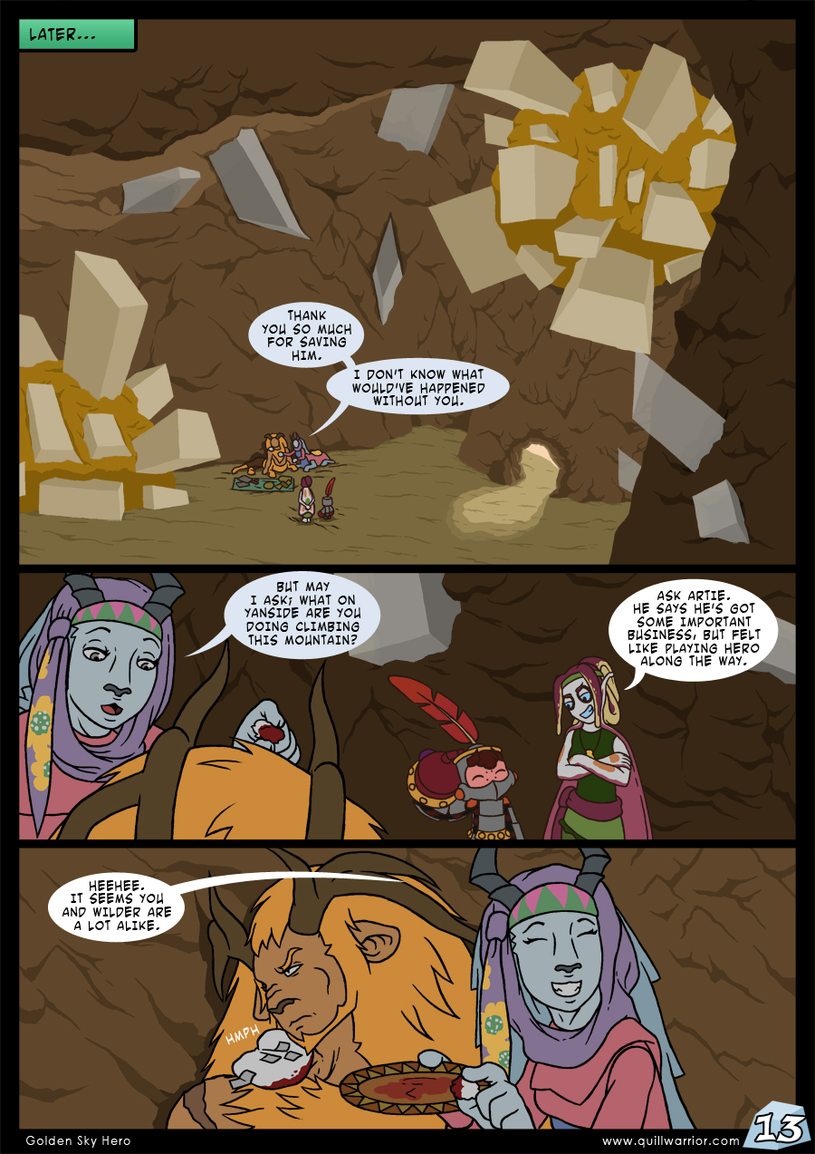 Golden Sky Hero – Chapter 7 – Page 13