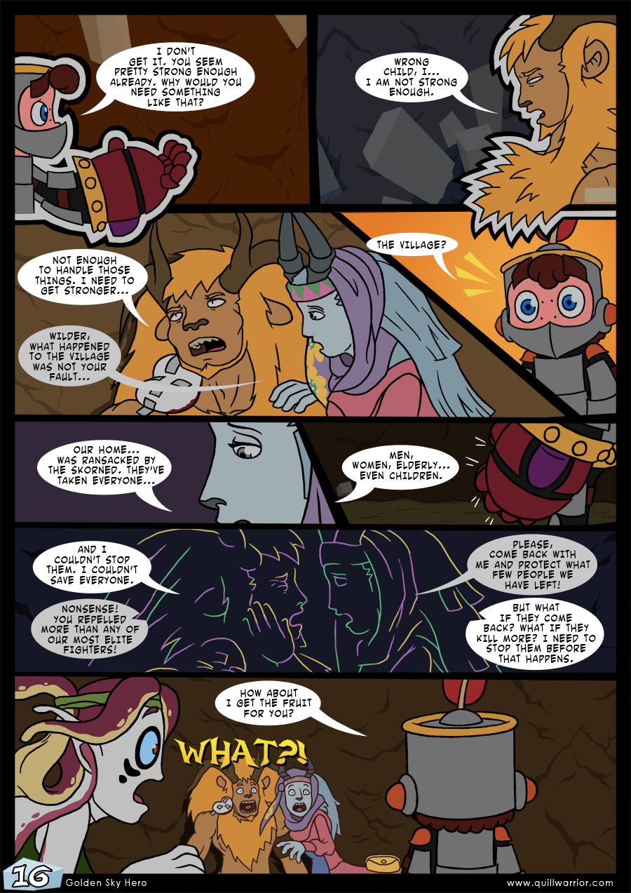 Golden Sky Hero – Chapter 7 – Page 16