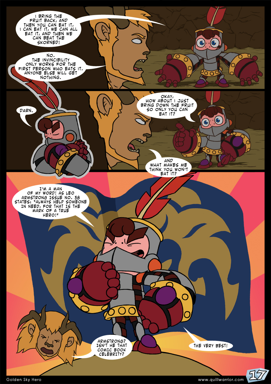 Golden Sky Hero – Chapter 7 – Page 17