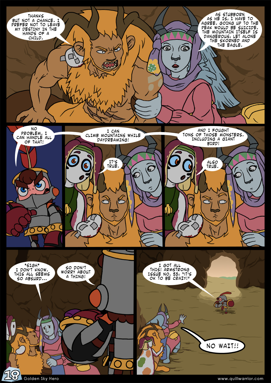 Golden Sky Hero – Chapter 7 – Page 18