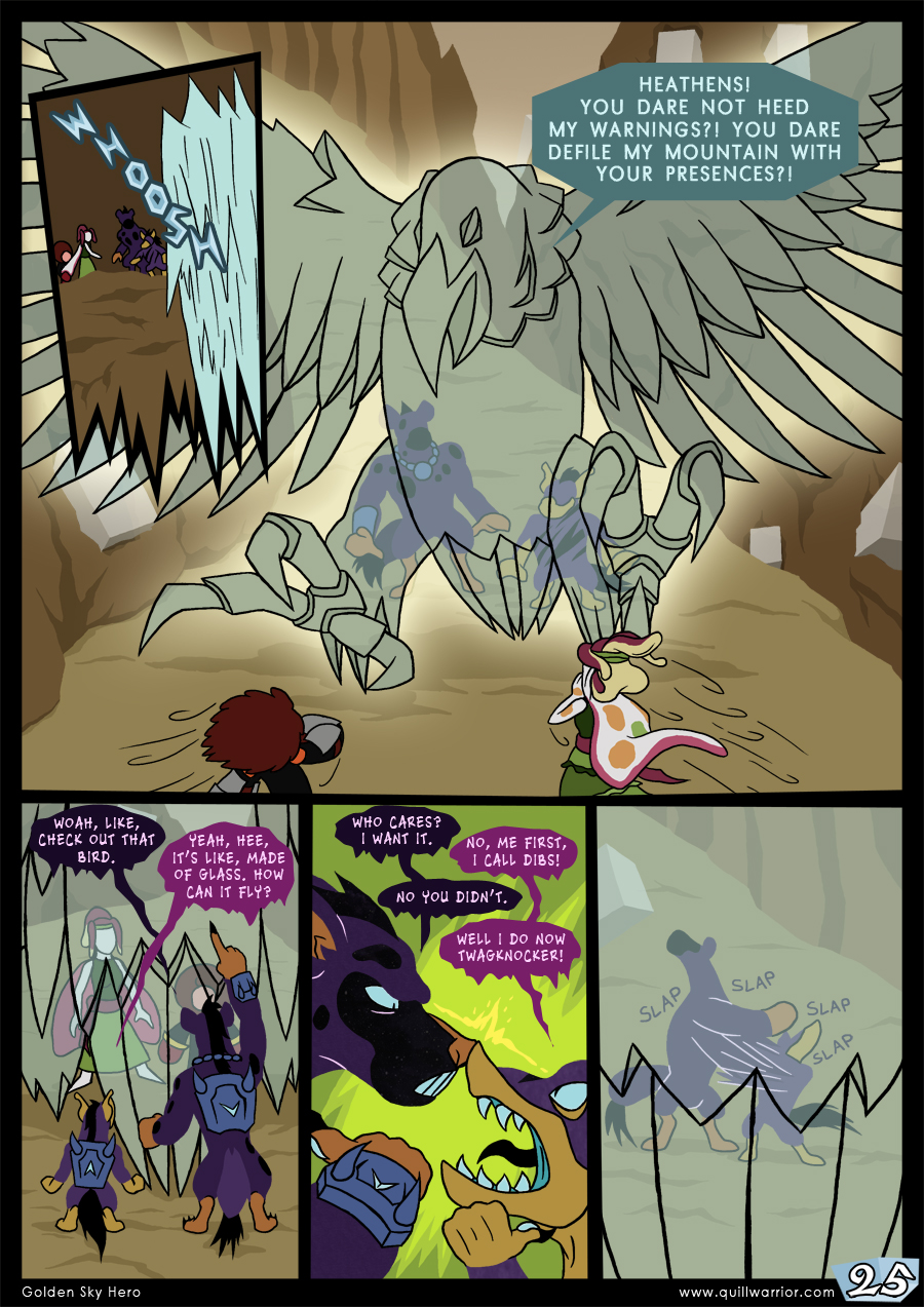 Golden Sky Hero – Chapter 7 – Page 25