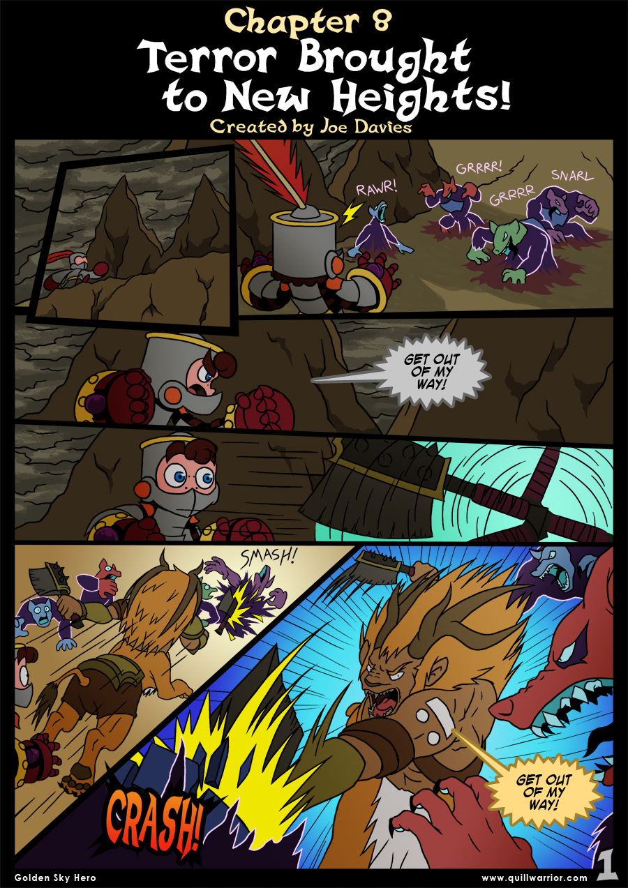 Golden Sky Hero – Chapter 8 – Page 1