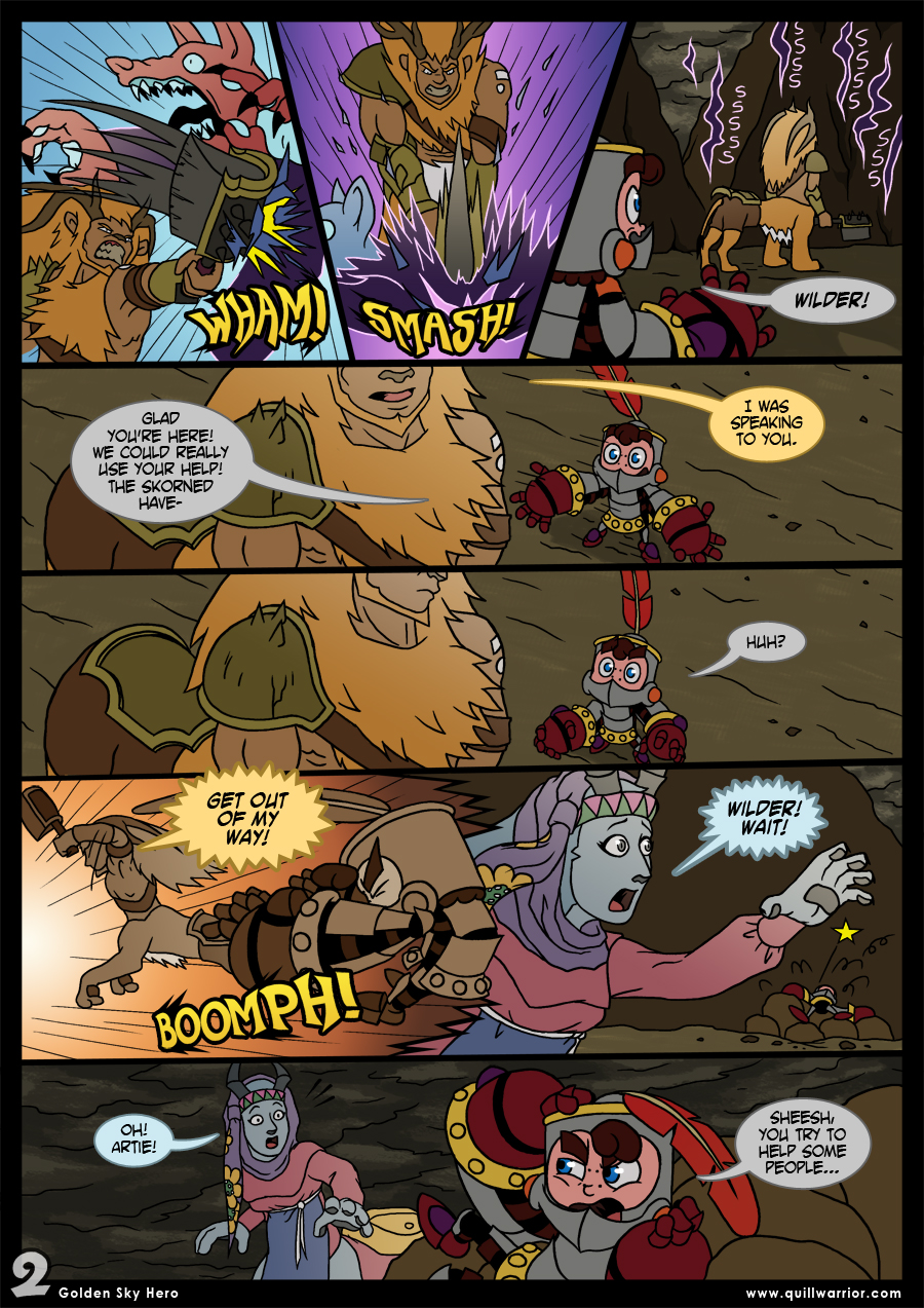 Golden Sky Hero – Chapter 8 – Page 2