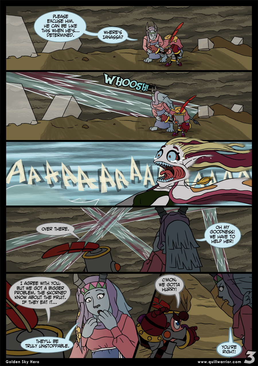 Golden Sky Hero – Chapter 8 – Page 3