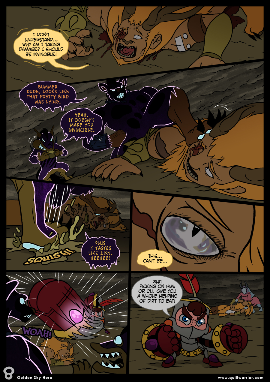 Golden Sky Hero – Chapter 8 – Page 8