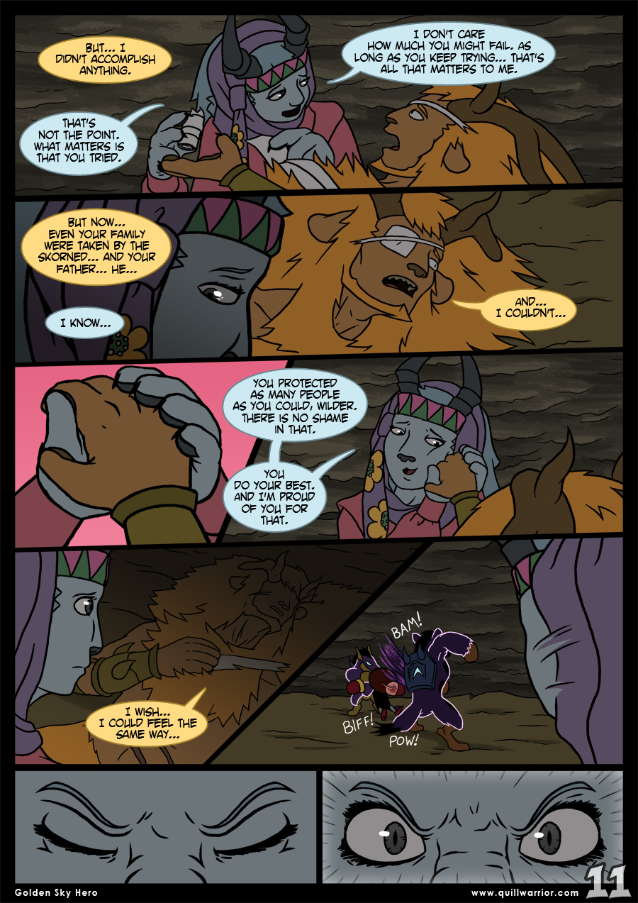 Golden Sky Hero – Chapter 8 – Page 11