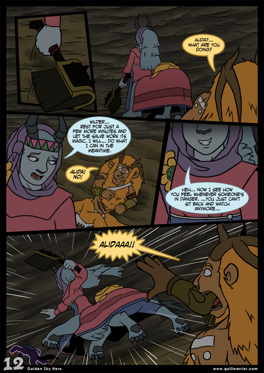 Golden Sky Hero – Chapter 8 – Page 12