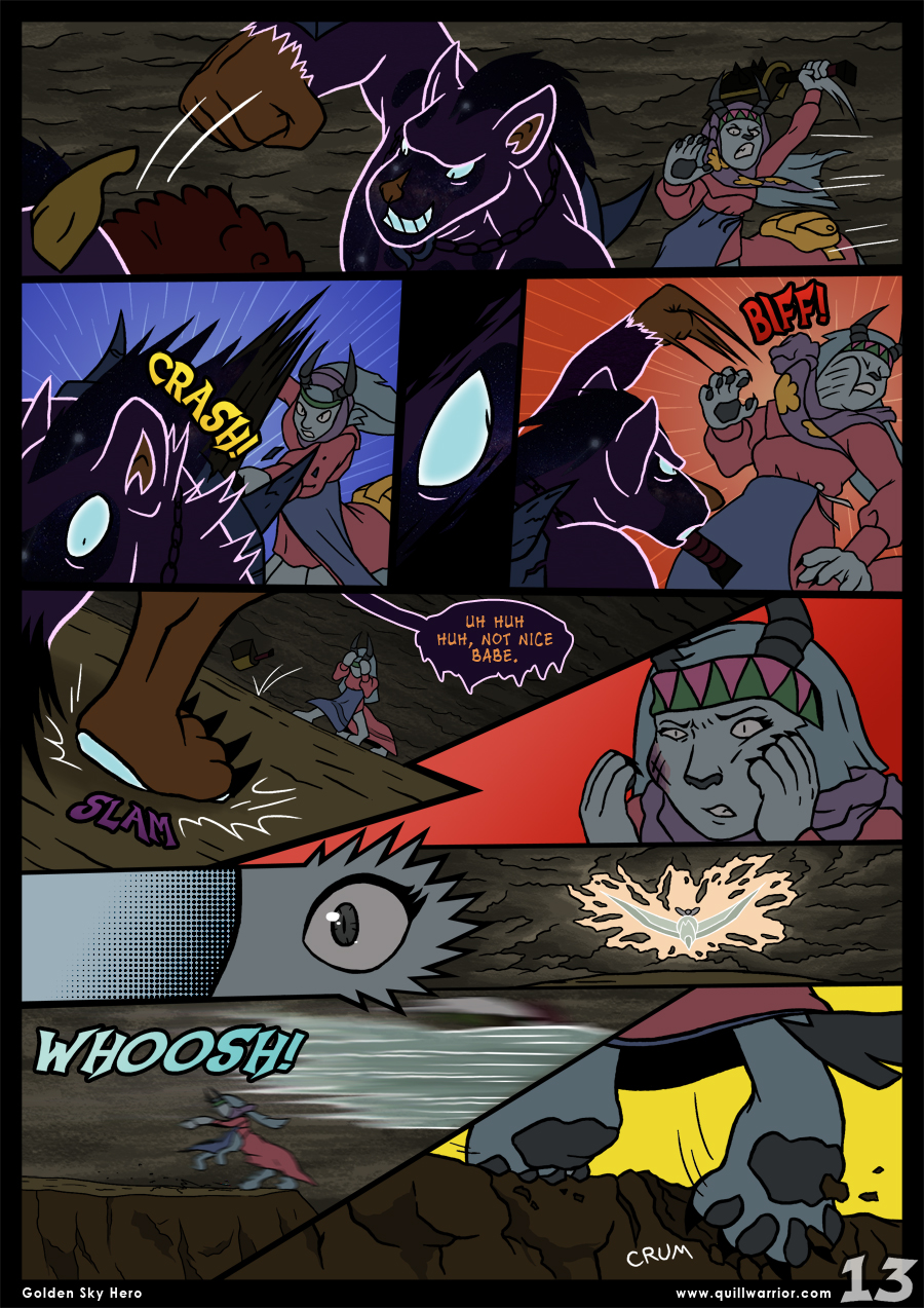 Golden Sky Hero – Chapter 8 – Page 13