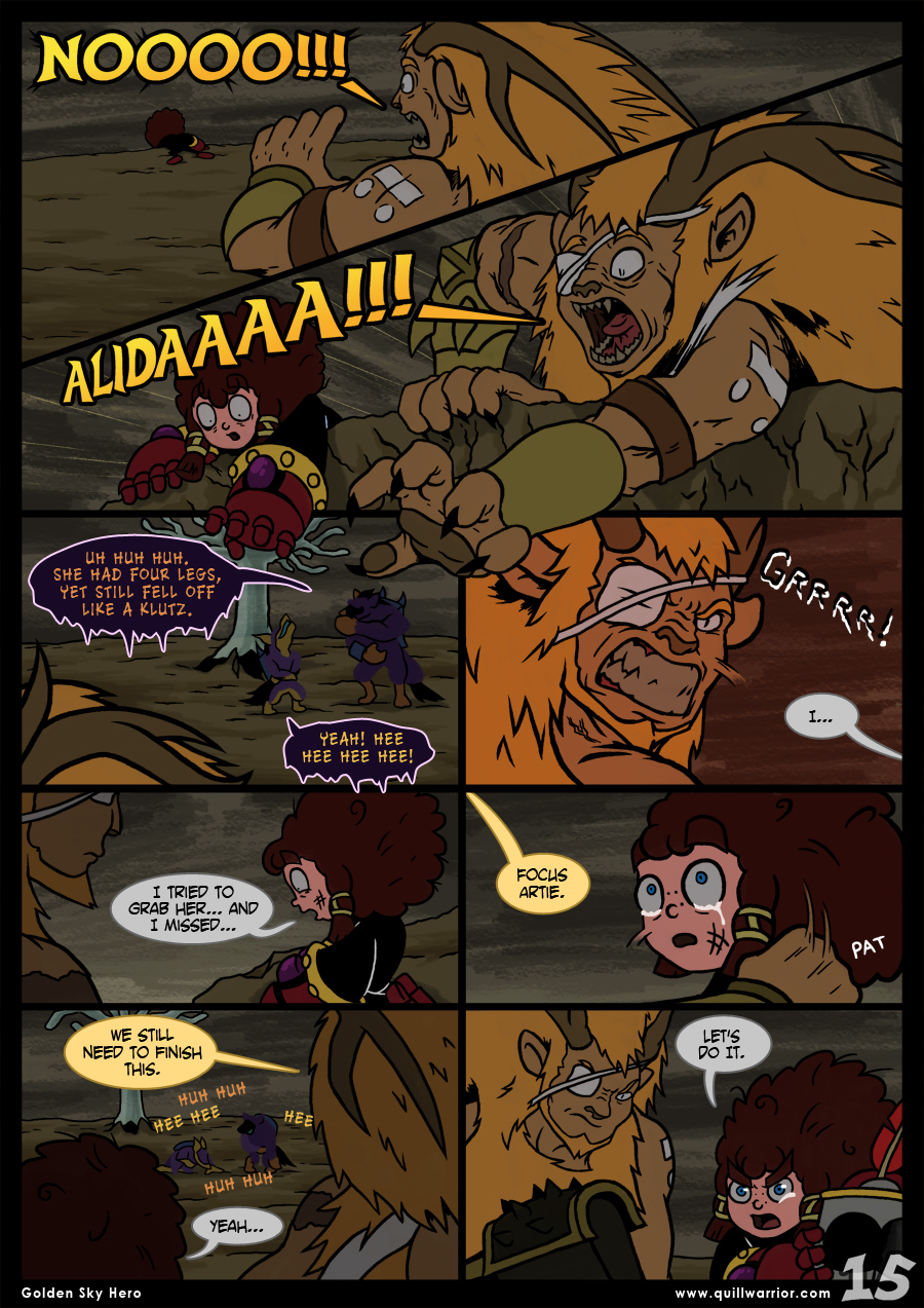 Golden Sky Hero – Chapter 8 – Page 15