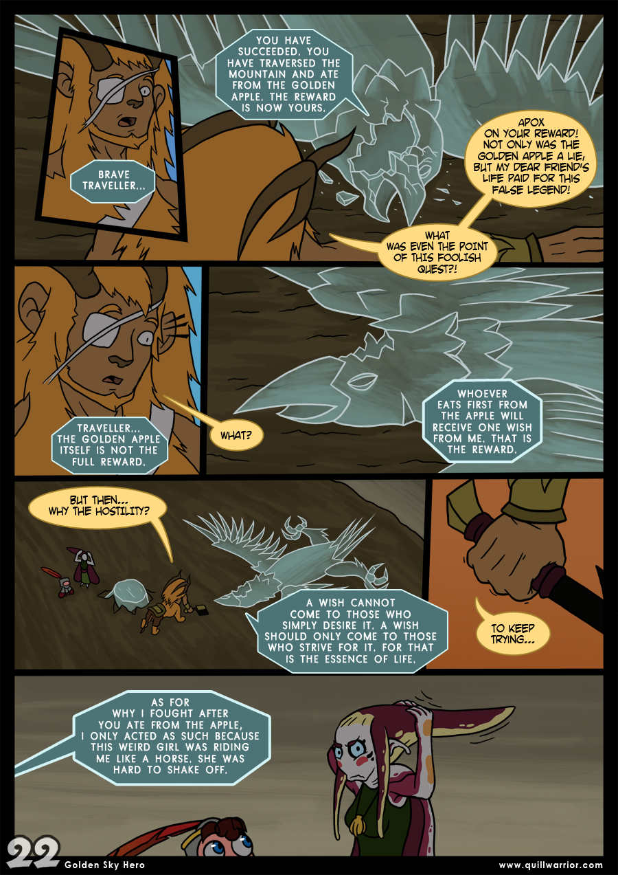 Golden Sky Hero – Chapter 8 – Page 22