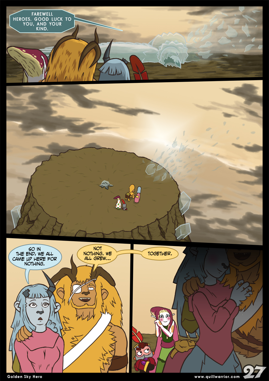 Golden Sky Hero – Chapter 8 – Page 27