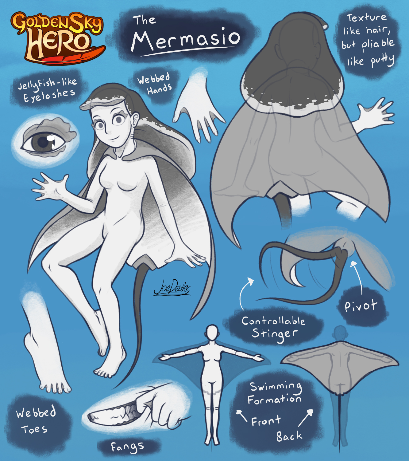 Concept Art – The Mermasio 1